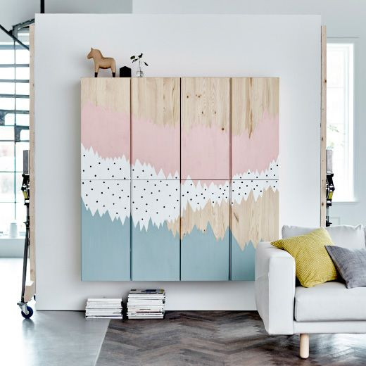 16-ikea-hacks-that-deserve-a-spot-in-your-home-pink-and-blue-cabinets-56dd96704791784e5ecbd8ab-w1000_h1000